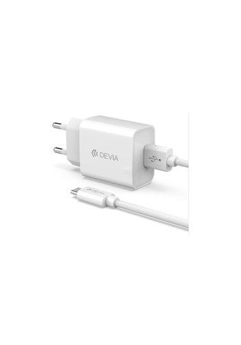 Devia Adapter + USB Typ-C Kabel 1m Set