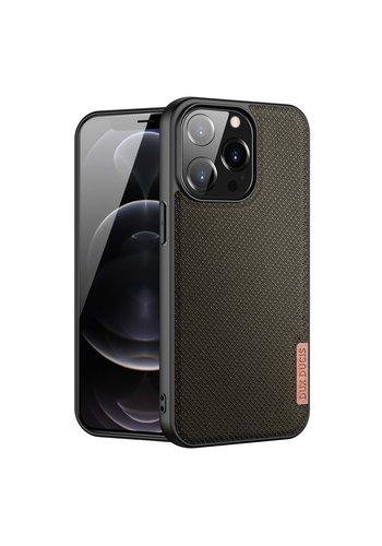 Dux Ducis Nylon Hoesje voor Apple iPhone 13 Pro Max Groen