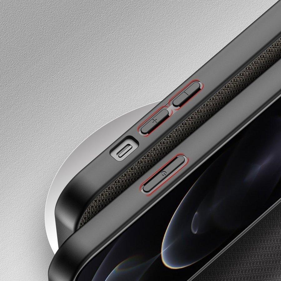Nylon Hoesje voor Apple iPhone 13 Pro Max Groen