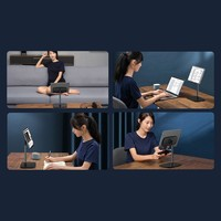 Desktop Houder Tablet Zilver