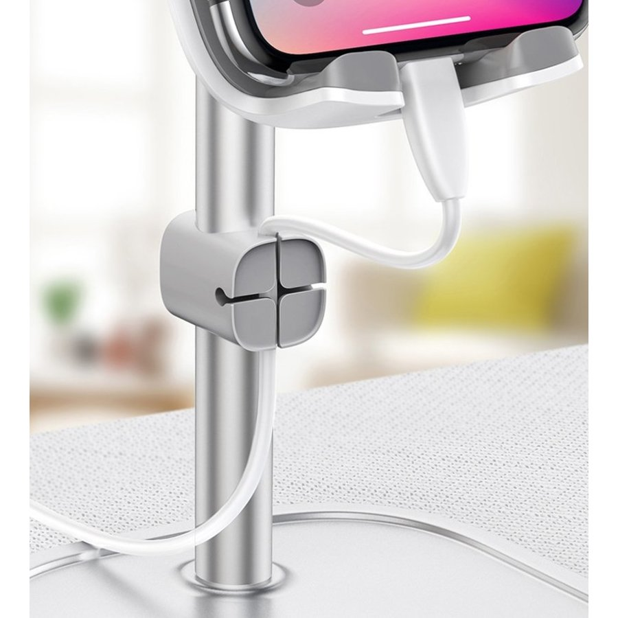 Desktop Holder Phone Silver