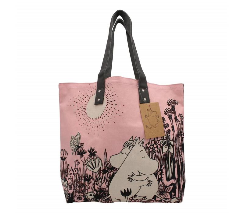 Pink Moomin shopper