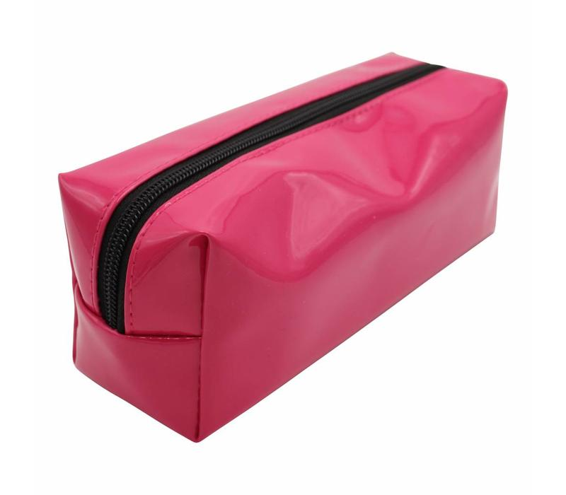 Pink naughty pencil case