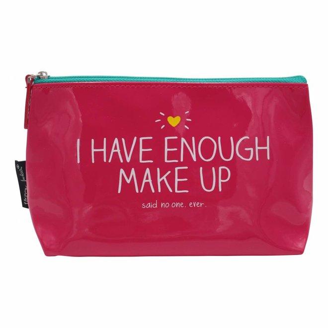 Roze make-up tasje