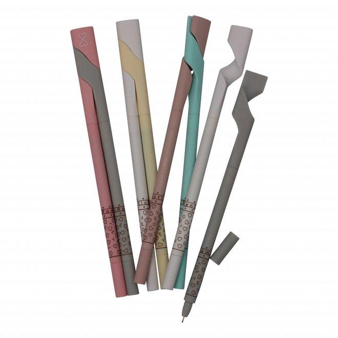 Chopsticks gel pen set