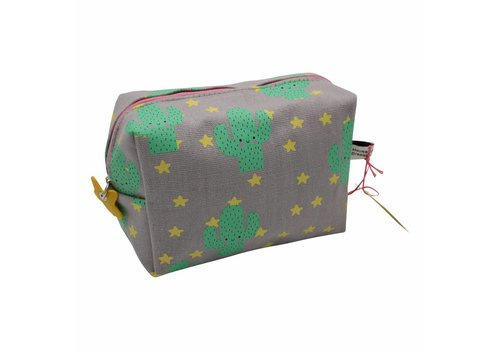 Cactus toiletry bag / pencil case