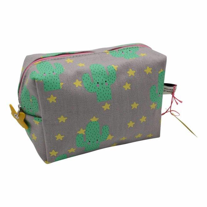 Cactus toiletry bag / pencil case