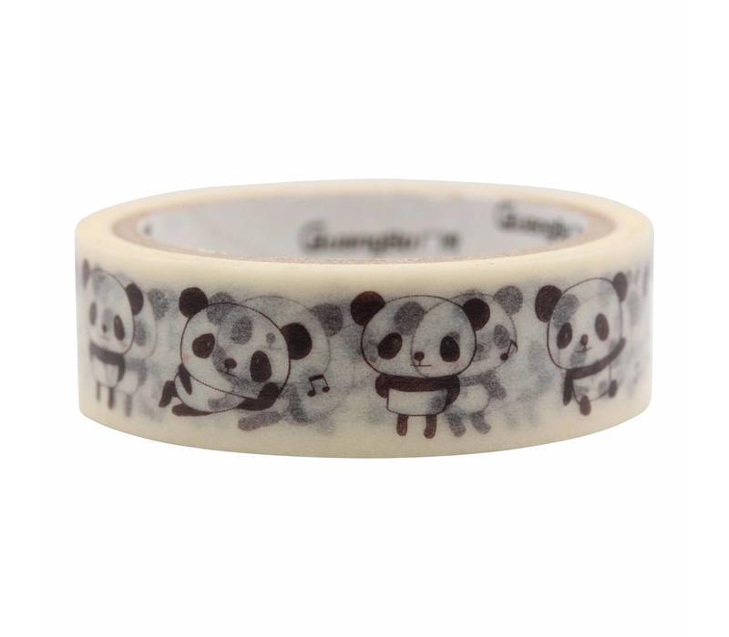 Panda washi tape set