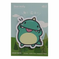 Dino sticky notes set