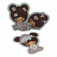 Kokemi dolls - stickers set