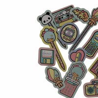 Chic Kawaii - stickers set