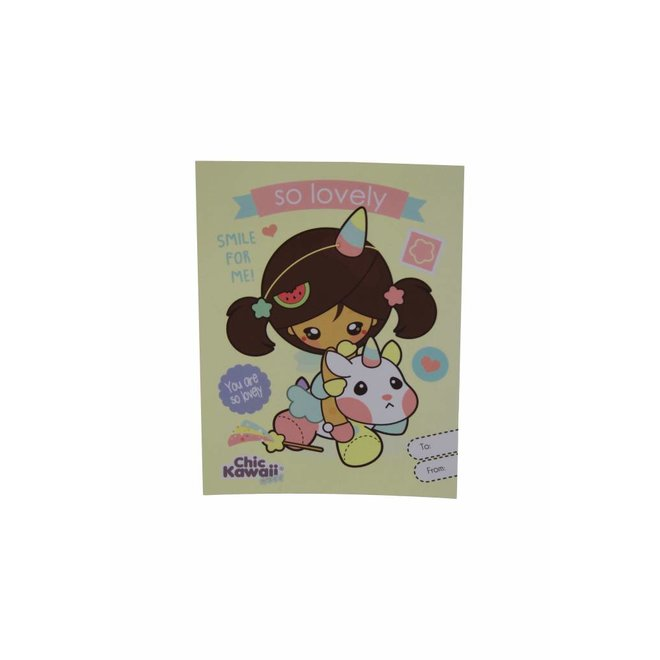 ChicKawaii postcard set