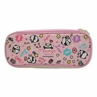Moongs pattern pencil case - pink