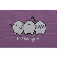 Moongs pencil case - purple