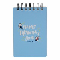 Moongs drawing book small-blue