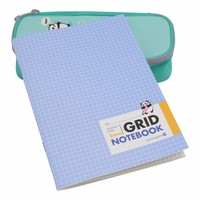 Grid notebook squared paper 5mm
