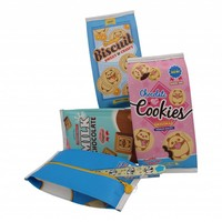 Moongs snack pencil case large - orange biscuit