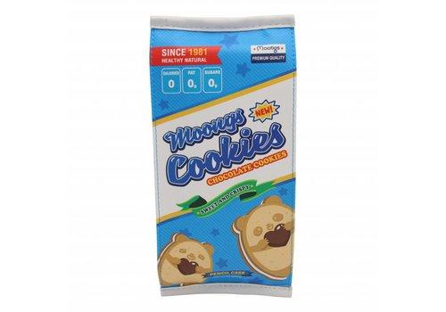 Moongs Pencil case large - moongs cookies