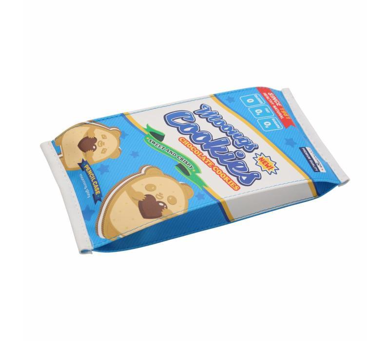 Moongs snack pencil case large - moongs cookies