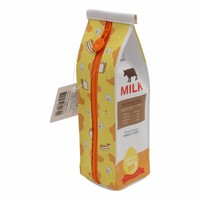 Moongs milk carton pencil case - butter