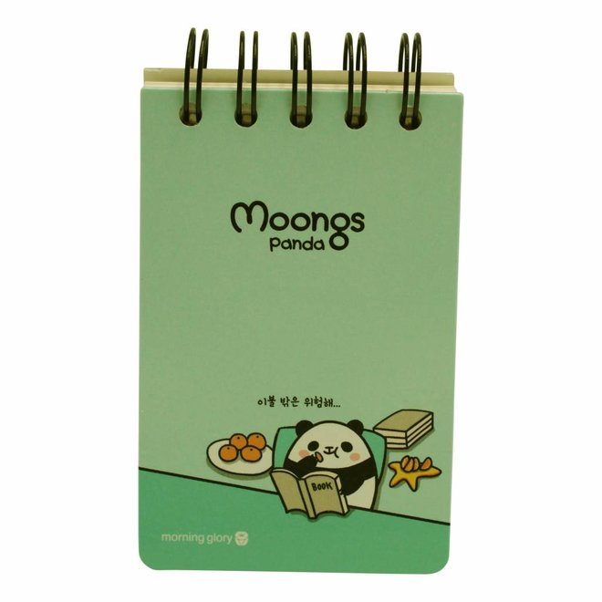 Moongs memoboek - small