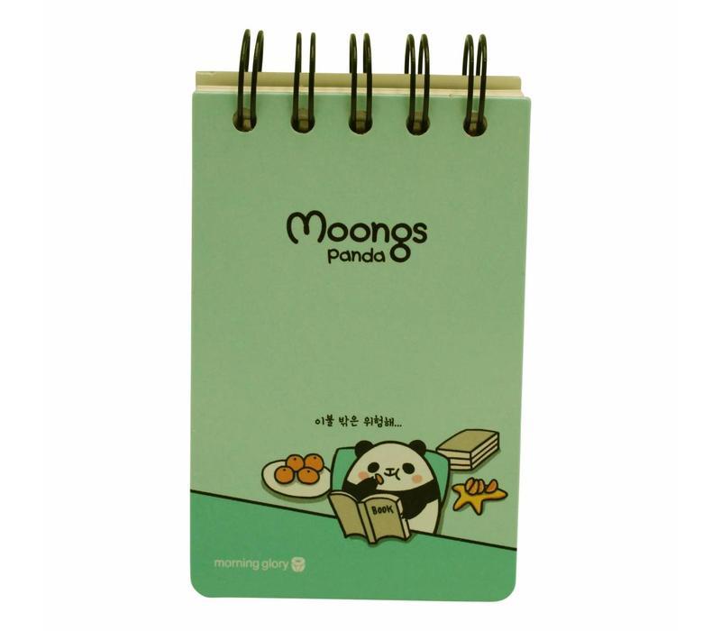 Moongs memo book - small
