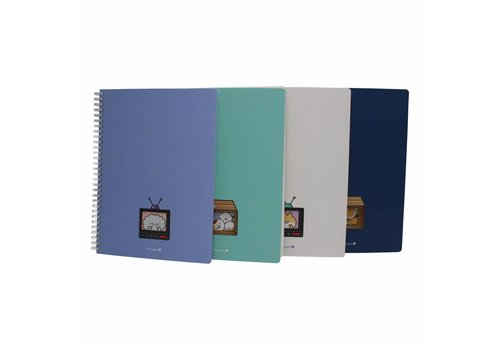 Moongs Cute window notebook large