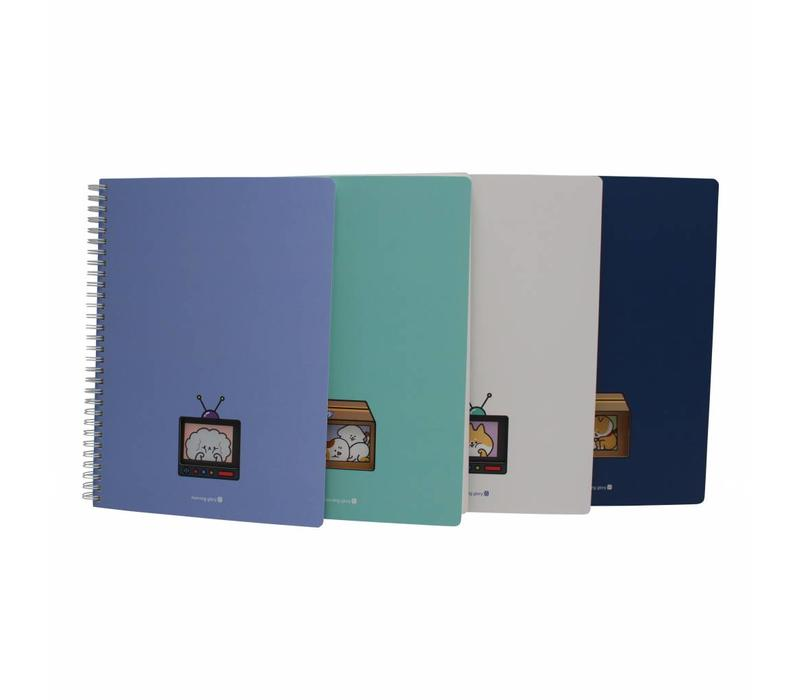 Cute window notebook large