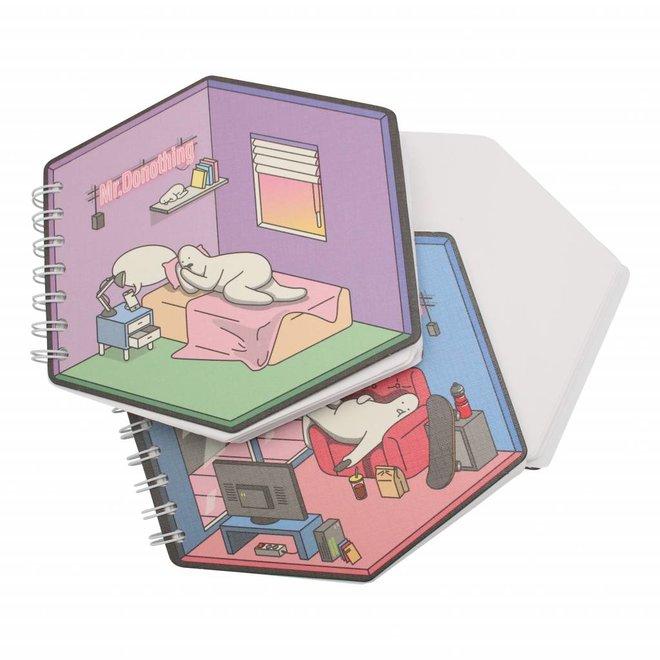 Diamant schetsboek Bed
