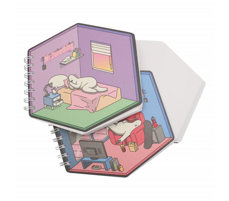 Diamond notebook Bed