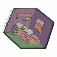 Diamant notebook Bed
