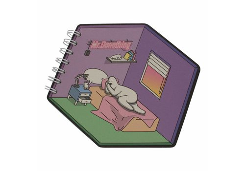 Mr.Donothing Diamond notebook Bed