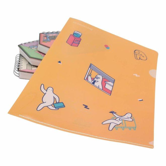 Mr.Donothing file folder A4