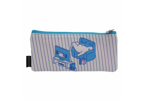 Mr. Donothing Pencil case Lazy