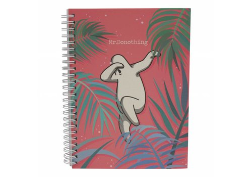 Mr.Donothing Spring notebook Red