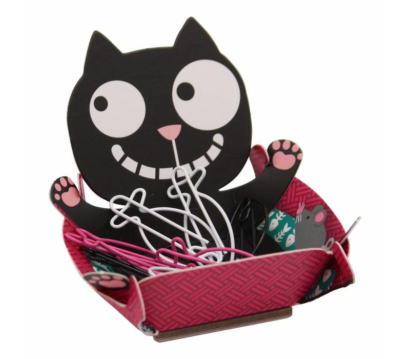 Ed, the Cat paperclips