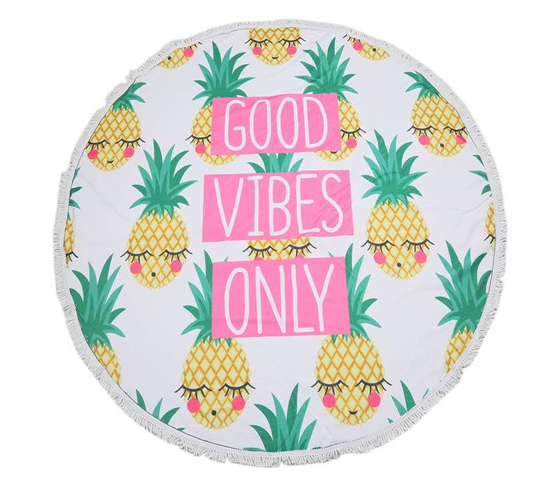Beach towel Good vibes only