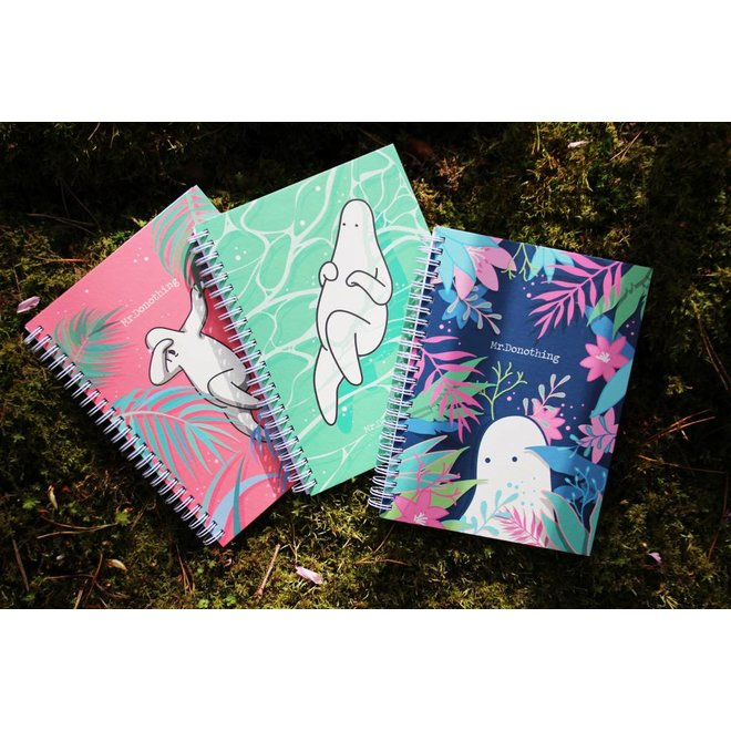 Spring notebook Red
