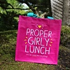Roze totebag - Proper Girly Lunch