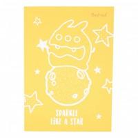 Dustykid notepad - Sparkle like a star