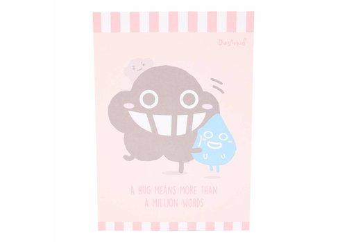 Dustykid Dustykid notepad - Hug