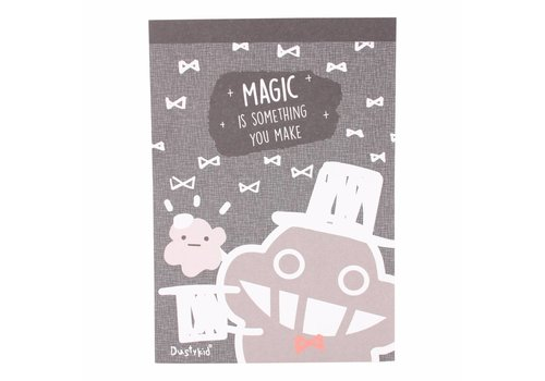 Dustykid Dustykid notepad - Magic