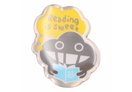 Dustykid Pin - Reading is sweet