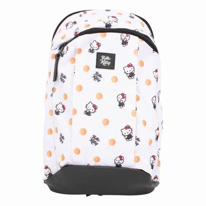 Hello Kitty back pack - polka dots