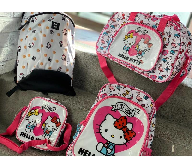 Hello Kitty back pack - polka dots - 39 cm