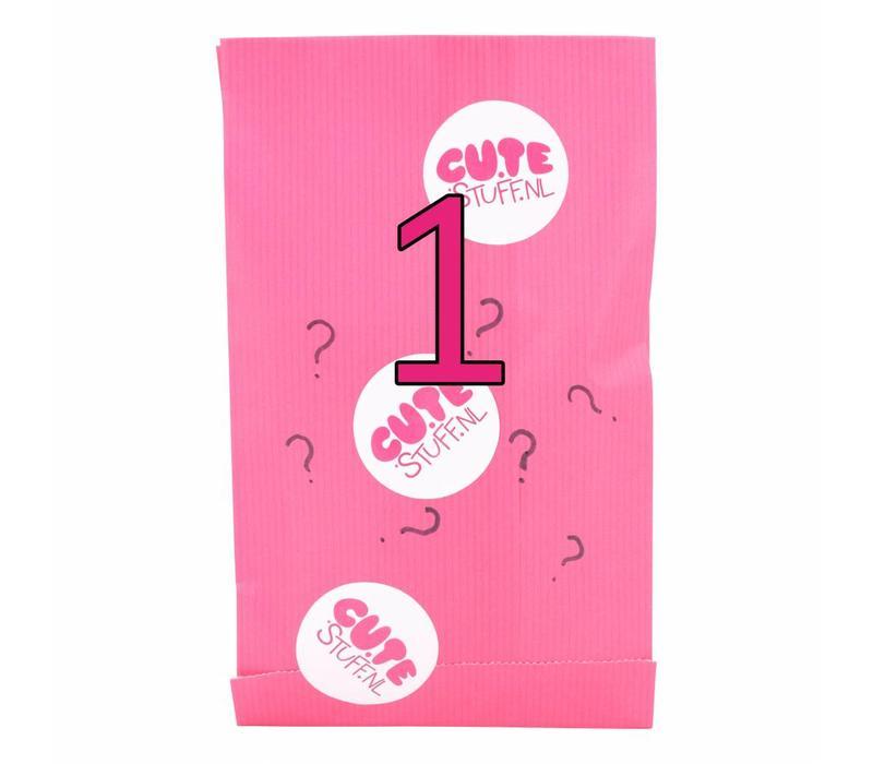 Surprise bag - Kawaii girls stickers