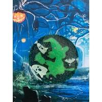 Halloween magneet - Rond