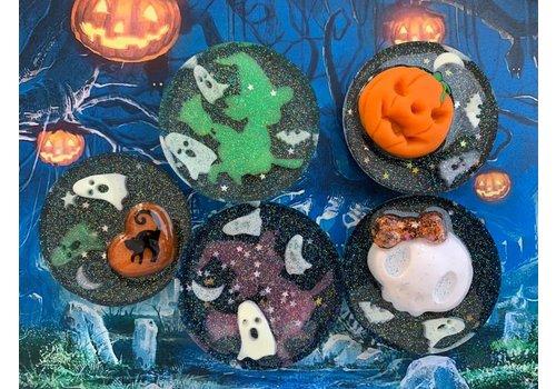 CuteStuff Halloween magnet - round