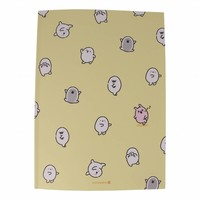 Moongs notebook  large - yellow