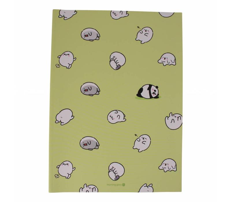 Moongs notebook  large - mint